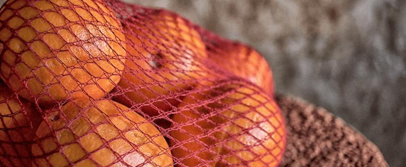 Rete compostabile in Cellulosa